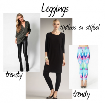 Zijn leggings nog wel in de mode?