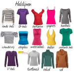 De ideale halslijn voor je bodytype