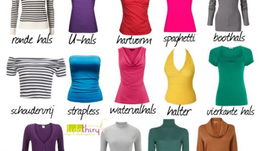 De ideale halslijn voor je bodytype – optische trucjes
