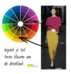 De complete gids voor kleurencombinaties, drieklank kleurencombinatie (3)