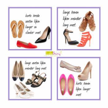 Schoenen die flatteren - die jou er beter uit laten zien