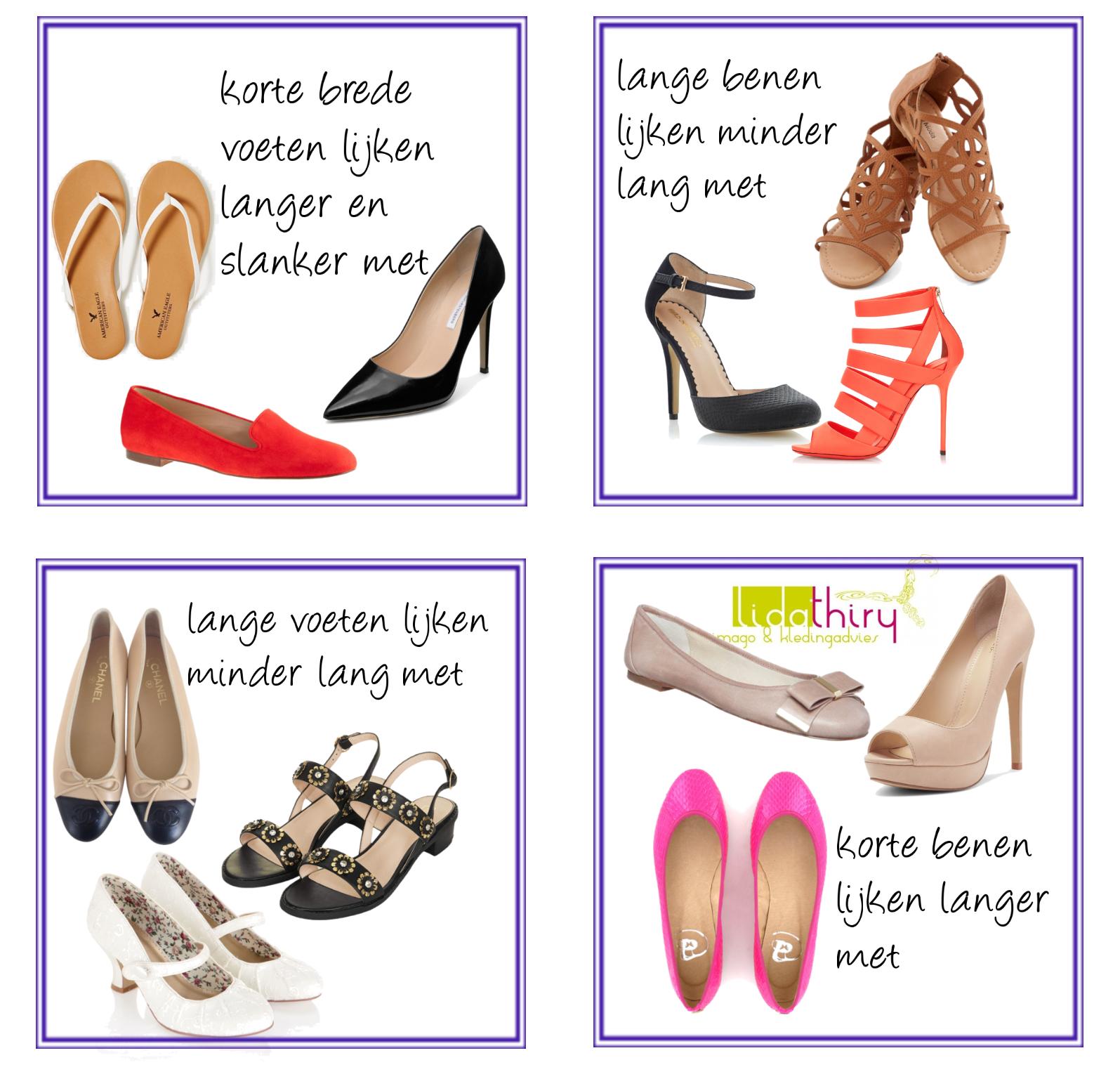 Schoenen die flatteren – jou er beter uit laten zien
