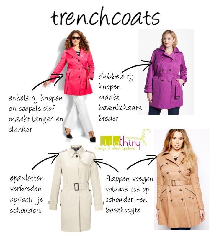De trenchcoat is de ideale jas voor in je basisgarderobe