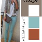 De kleur Taupe kan iedereen dragen