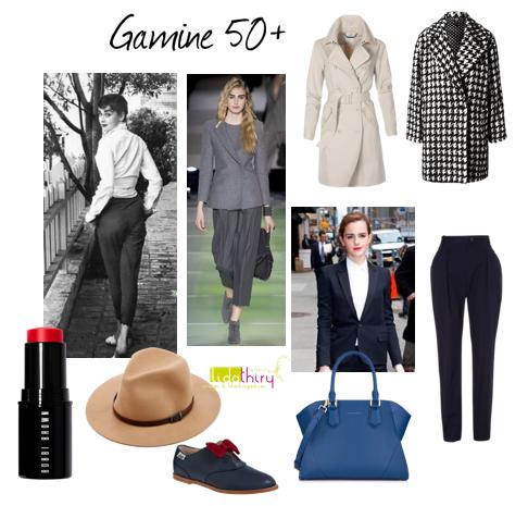 Kleding voor een 50+ Gamine
