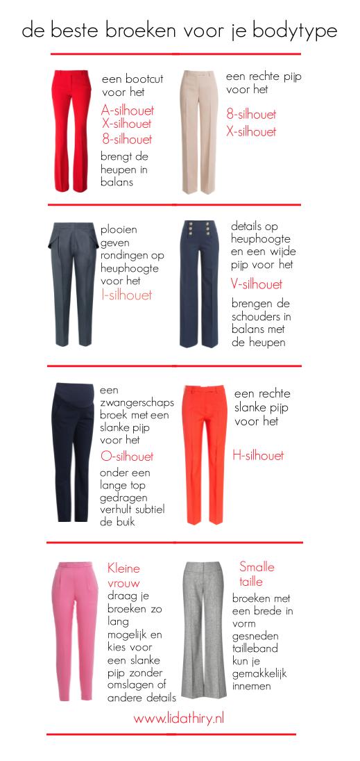 De ideale broek voor je bodytype ziet er goed uit, maar zit ook lekker