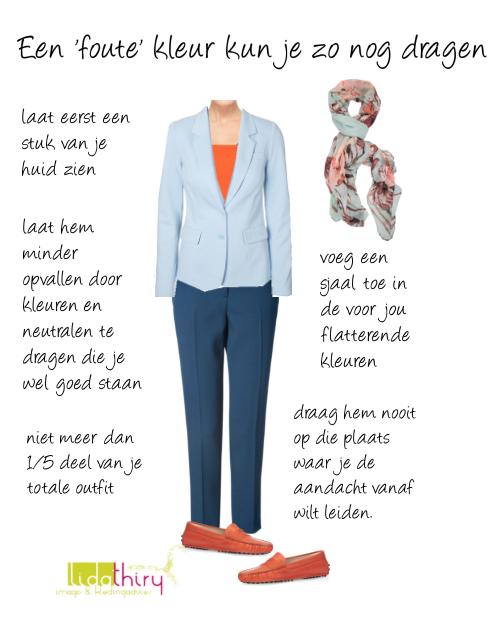 Een foute kleur kun je zo nog dragen – combineren kun je leren