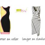 Ronde en rechte lijnen in kleding
