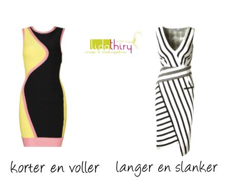 Ronde en rechte lijnen in kleding – slanker of voller lijken