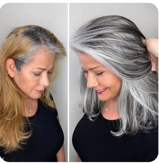 Grijs is het nieuwe blond