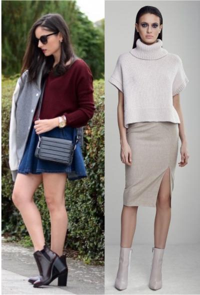 Een enkellaarsje bij een rok is dat een goed idee?