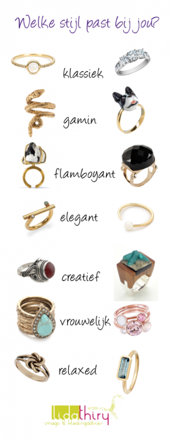 Ringen die bij jouw handen passen en bij je persoonlijkheid