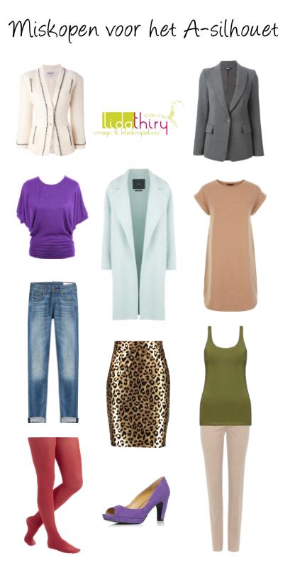 Miskopen voor het A-silhouet – laat deze kleding hangen