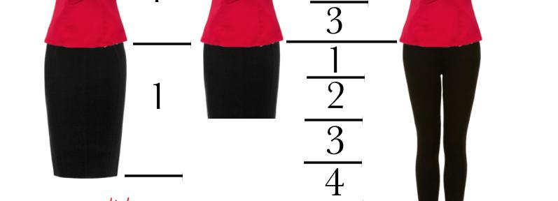 De regel van derden – mode is een kwestie van proporties