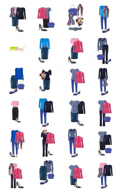 Een garderobe voor een klein budget