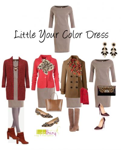 Een Little Your Color Dress mag niet ontbreken in je garderobe