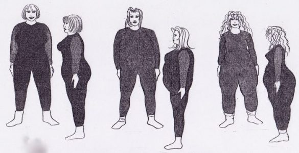 Je bodytype bepalen kan ook zo – waar word jij dikker?