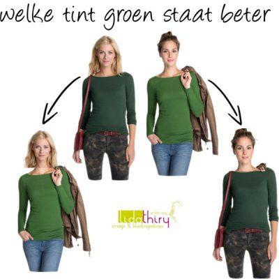 Het verschil tussen warm en koel groen - de ondertoon van een kleur