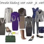 Formele kleding gewenst - wat draag je dan?