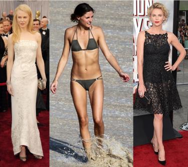 Bekende vrouwen met hetzelfde bodytype als jij
