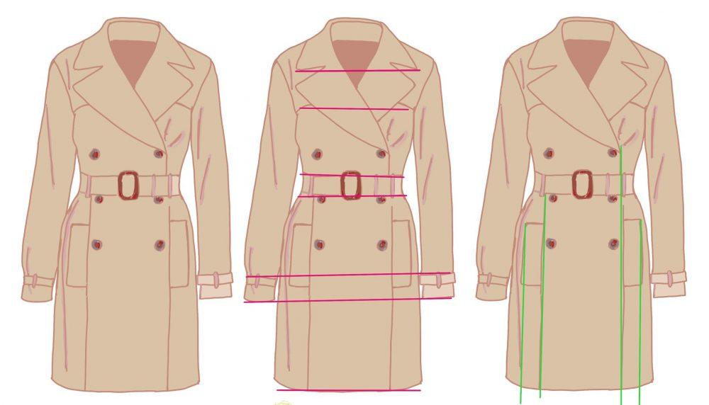 Een horizontale lijn heeft meer impact – lijnen in kleding (4)