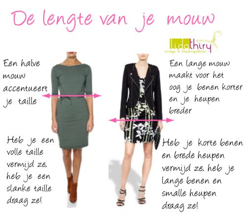 Een horizontale lijn heeft meer impact - lijnen in kleding (4)