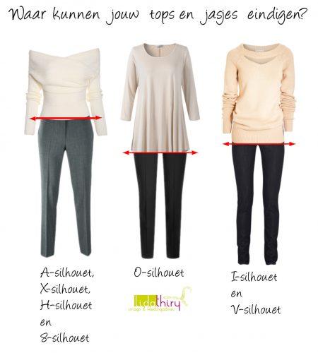 De ideale lengte van je top - lijnen in kleding (5)