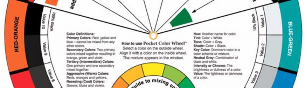 Een Color Wheel is een handig hulpmiddel