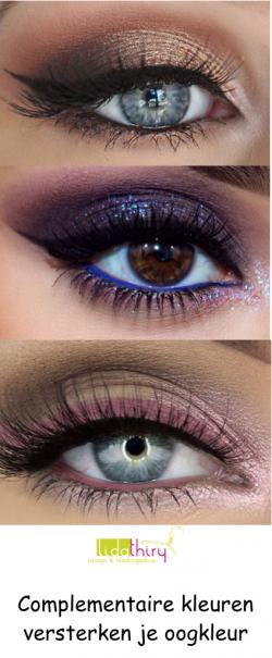 Zo kies je de kleur oogschaduw die je ogen laat spatten