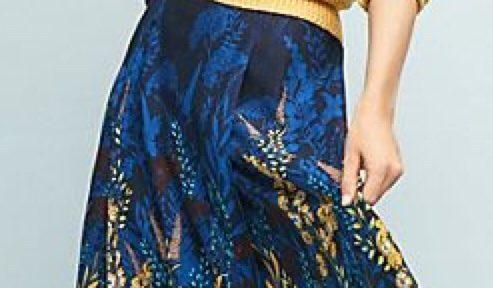 Zo draag je een rok met dessin als je een lage balans hebt