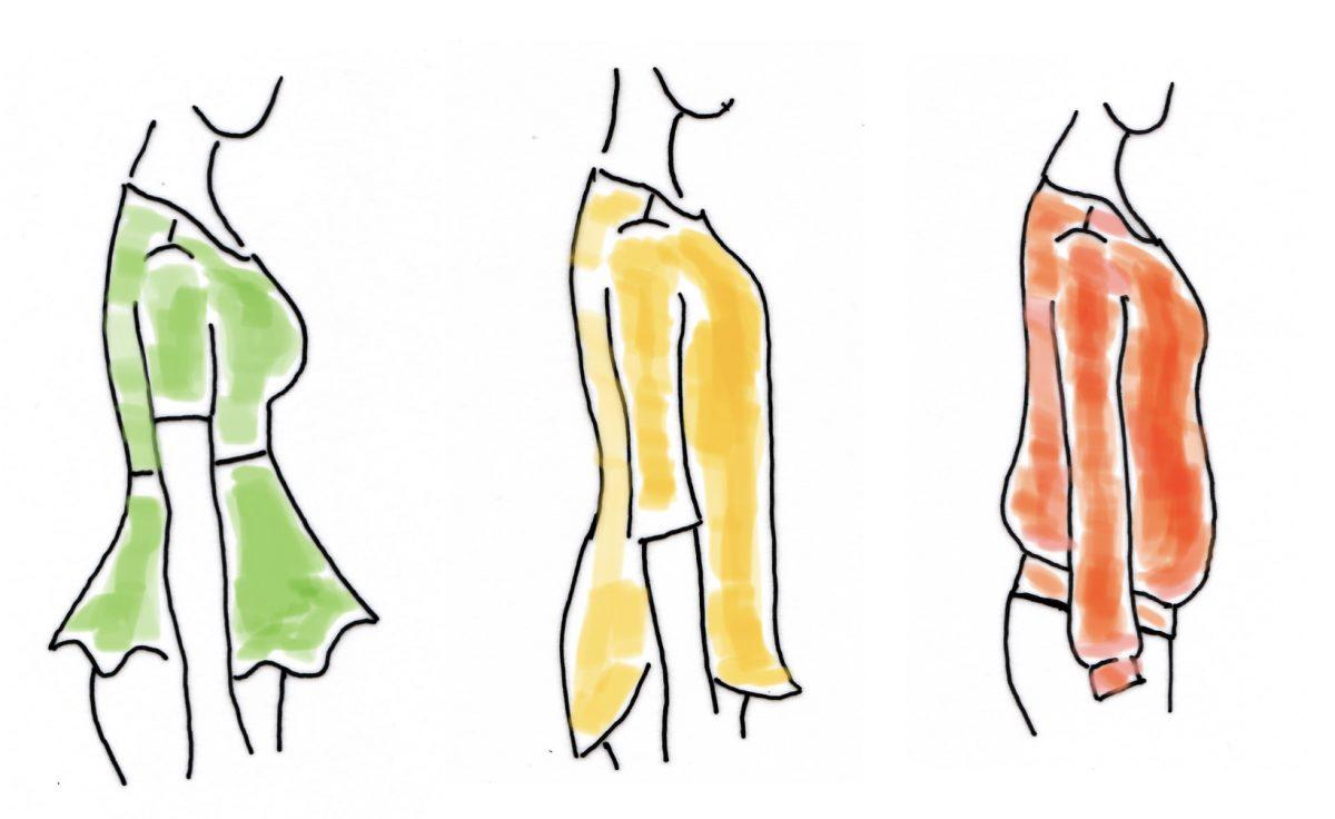 Twee soorten buikjes - stijlmiddelen