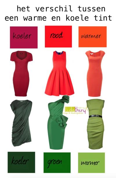 De kleuren rood en groen - kledingcombinaties met kerstkleuren