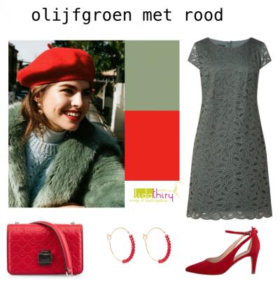 De kleuren rood en groen - kledingcombinaties met de kerstkleuren
