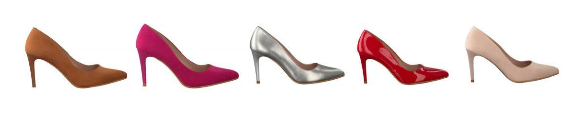 Schoenen in de kleur van je haar – visueel groeperen