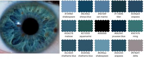 Kleuren die je ogen laten spreken - oogkleurversterkers