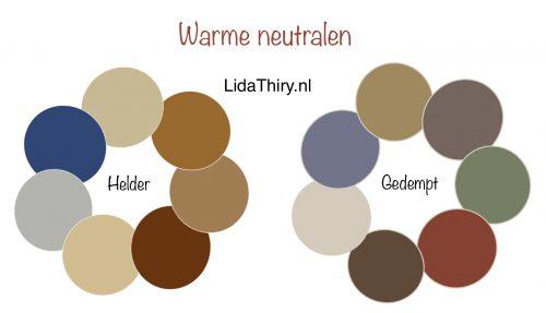 De beste neutralen voor warme kleurtypes