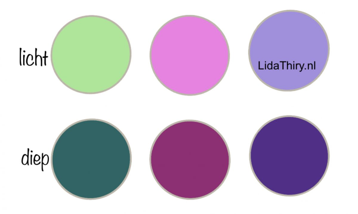 Je kleurtype ontdekken in vier stappen - licht of diep