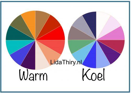 Je goede kleurenontdekken in vier stappen - warm of koel