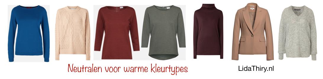 De beste neutralen voor warme kleurtypes (2)