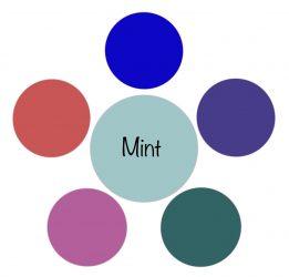 Mintgroen kan iedere vrouw dragen – universele kleuren